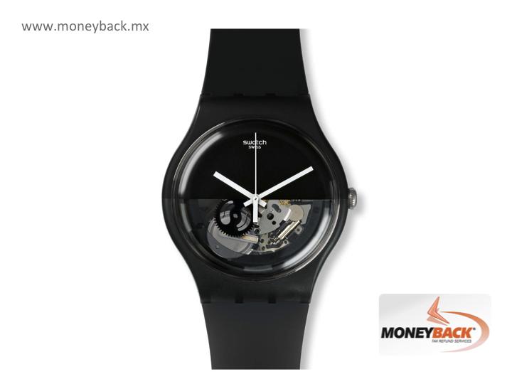 El Negro Dipblack Es Con Swatch Reloj De Un Totalmente 5TFJulK1c3