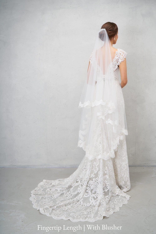 Alyssa veil veil anna campbell and chapel length veil