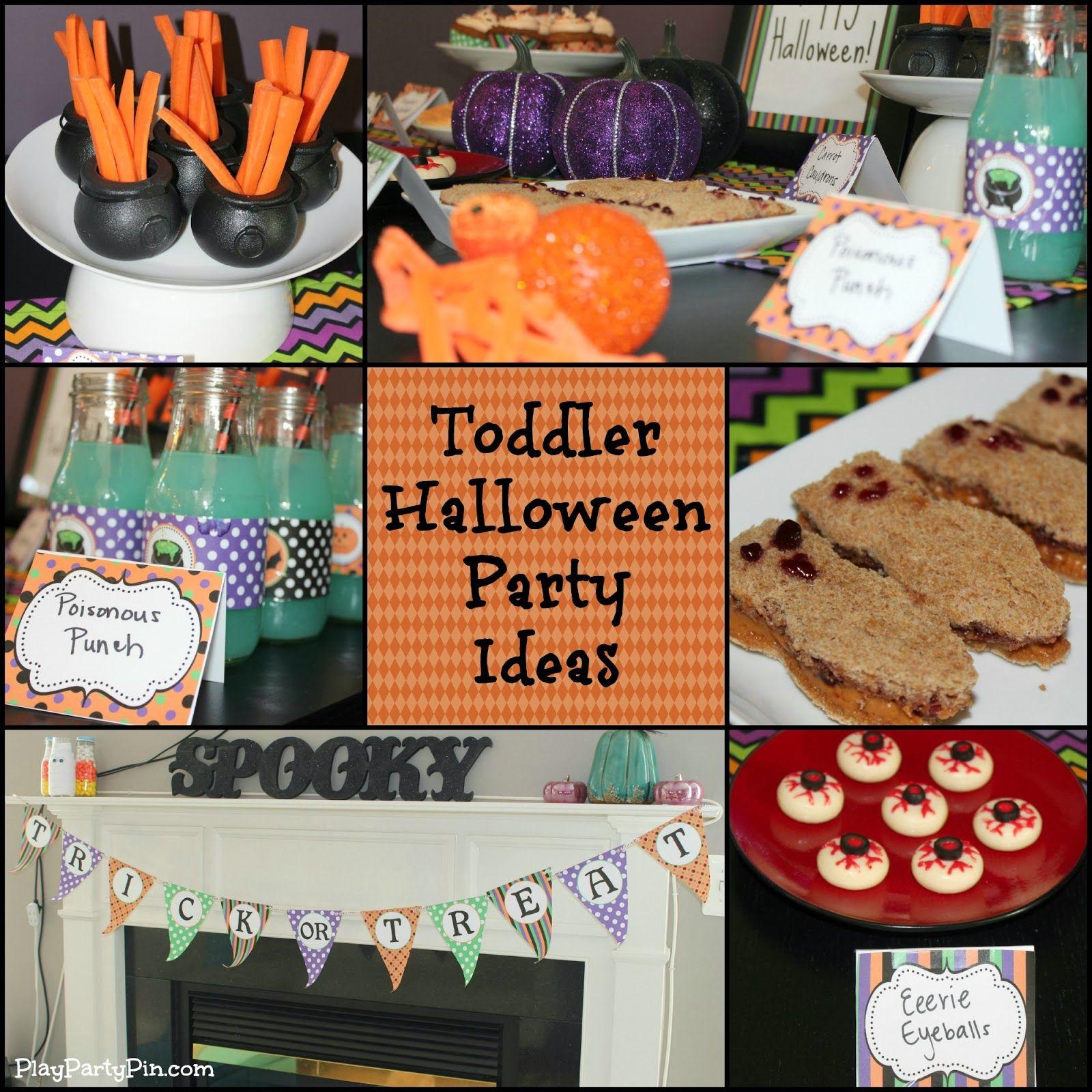 toddler halloween party ideasplaypartypin #toddler