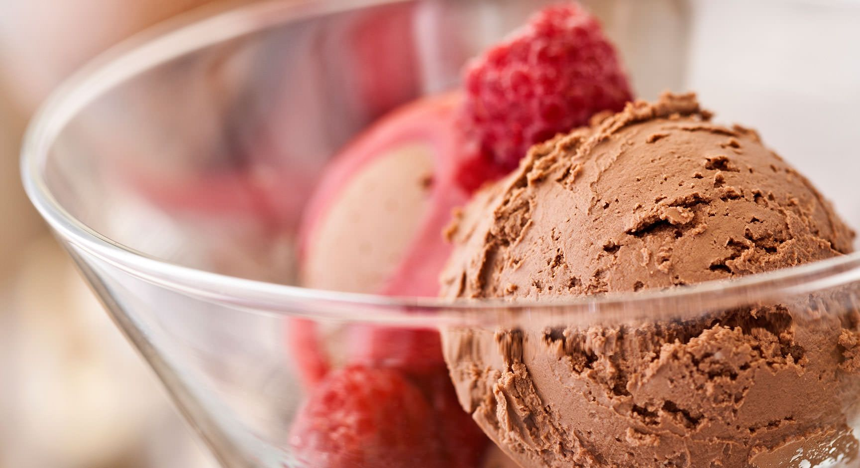 Crème glacée vegan au chocolat Crème glacée, Crème