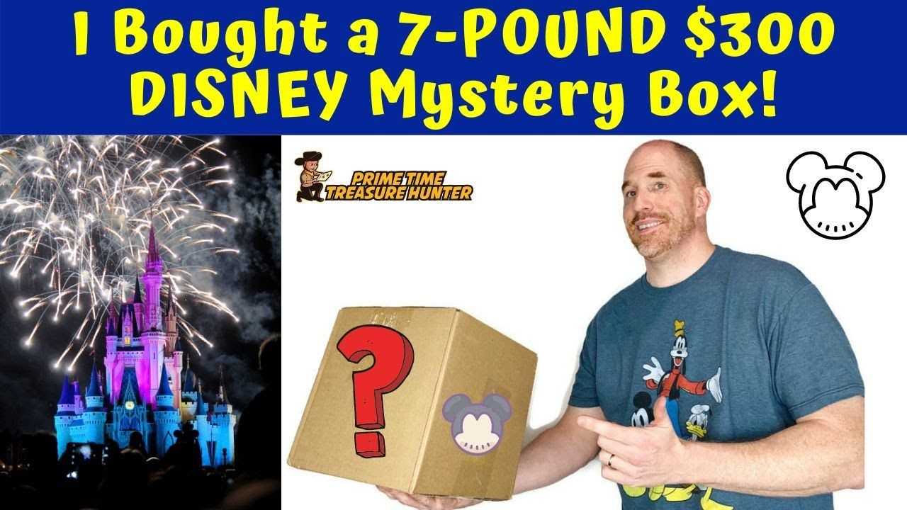 I Bought A 7 Pound 300 Disney Mystery Box Of Jewelry Accessories Youtube Mystery Box Mystery Stuff To Buy