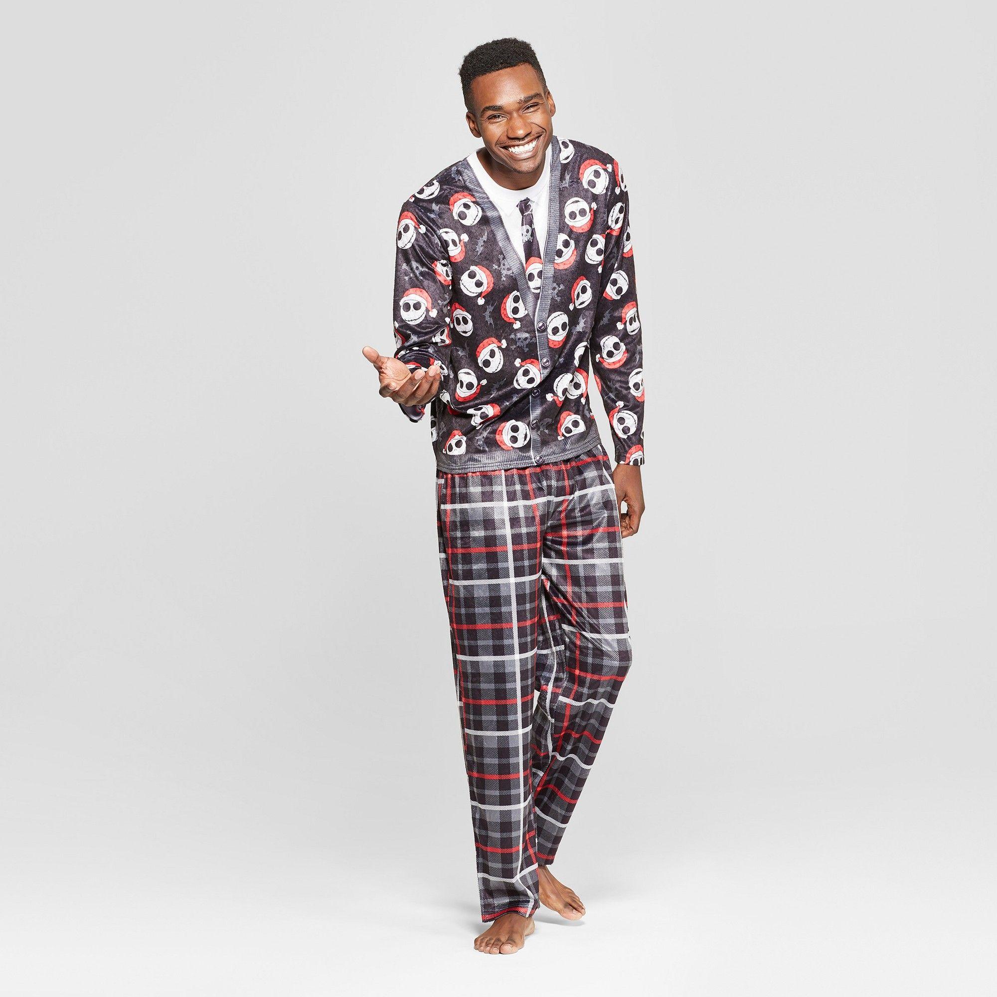 Grigio Perla Black Cotton Pajama Set 2XL
