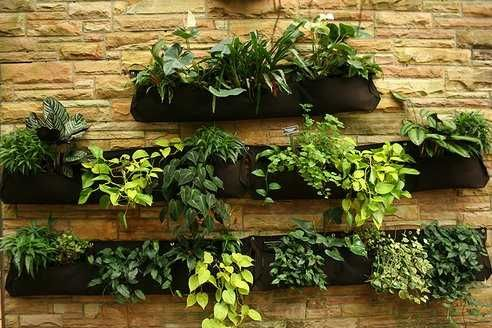 Wonderful Vertical Garden Design Is A Great Green Idea For All Who Lives In The City  Where