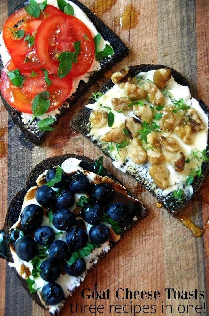 toasts are an incredibly easy appetizer recipe and there are dozens of flavor combinations to use.