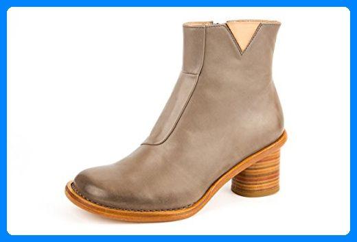 Dr Martens ROSA Ladies Leather Rigger Safety Boots Teak
