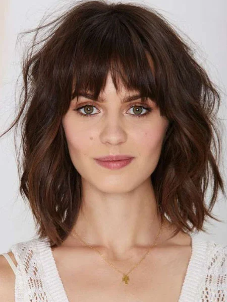 How to Style Bangs Like a Pro