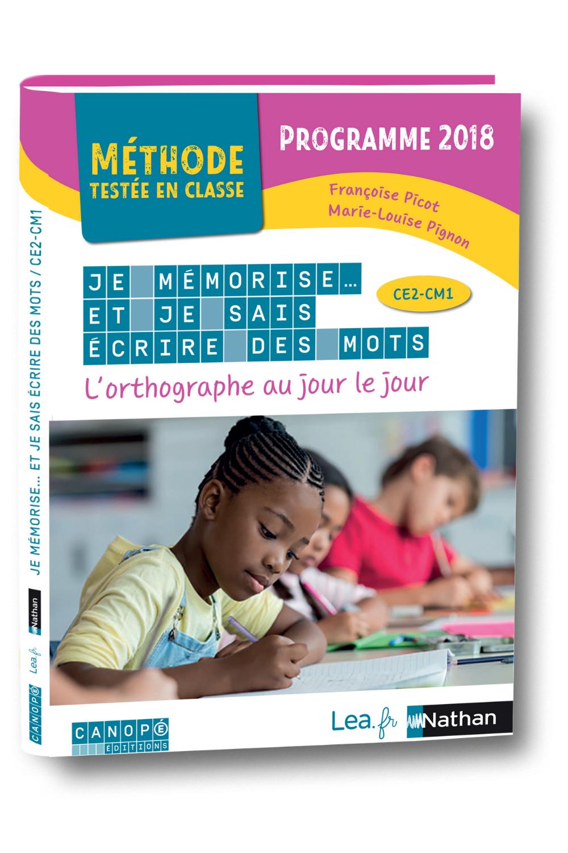 Je Mémorise Et Je Sais écrire Des Mots Ce2 Cm1 : mémorise, écrire, Mémorise, L'orthographe