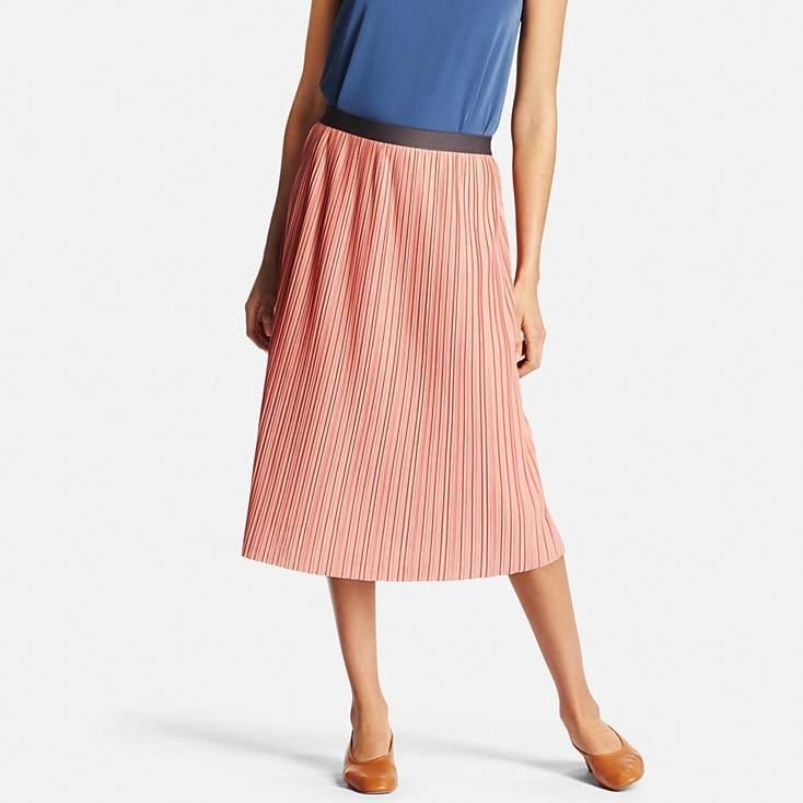 Women Pleated Skirt | Uniqlo