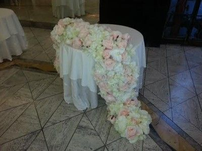 Just want to share my diy sweetheart table floral runner weddings just want to share my diy sweetheart table floral runner weddings planning do it yourself style and decor wedding forums weddingwire solutioingenieria Gallery