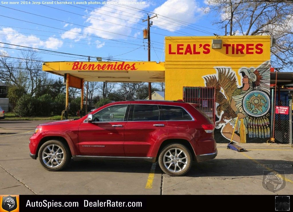 First Review Does The 2014 Jeep Grand Cherokee Have The Goods To