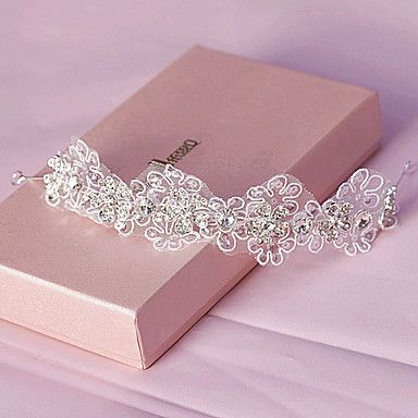 Women RhinestoneHeadbands With Wedding Headpiece – USD $ 21.99