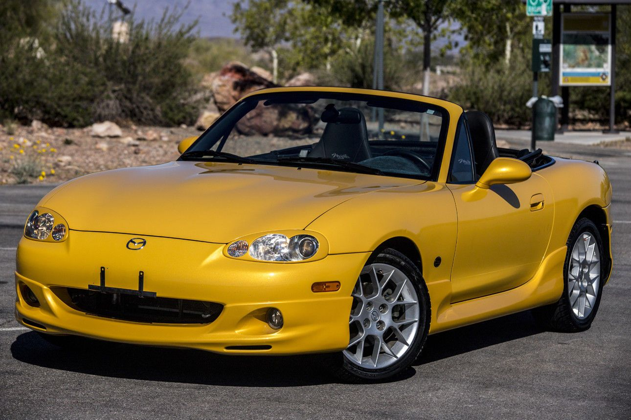 2002 Mazda Mx 5 Miata Blazing Yellow Special Edition 25k Miles 1 Owner Pectacular Low Mileage 2002 Mazda Miata Mx 5 Special Edition 25k Miles 1 Owner 2019 Is In Mazda Mx5 Miata Mazda Mx5 Mazda Miata