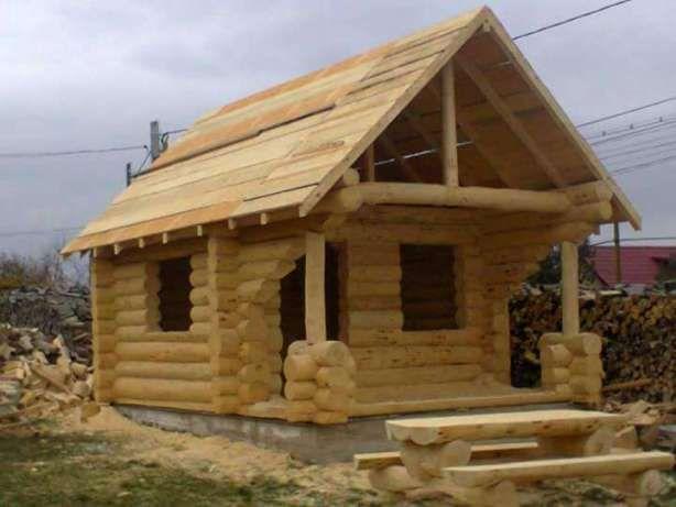Cabane din lemn rotund batos imagine 4 diverse pinterest for Case de lemn rotund