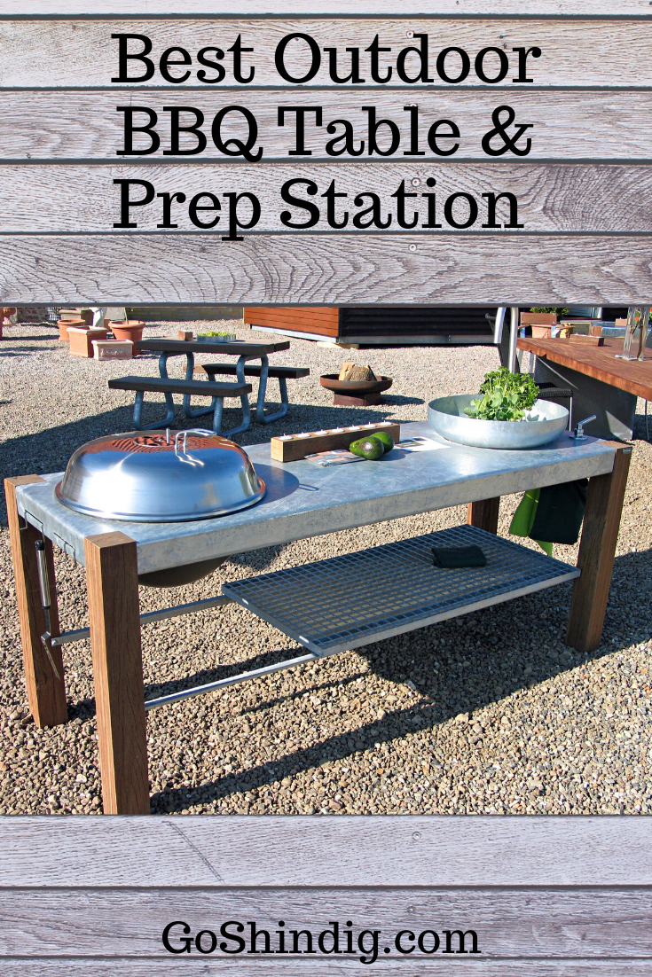 Best Outdoor Bbq Prep Station Bbq Table Outdoor Bbq Bbq