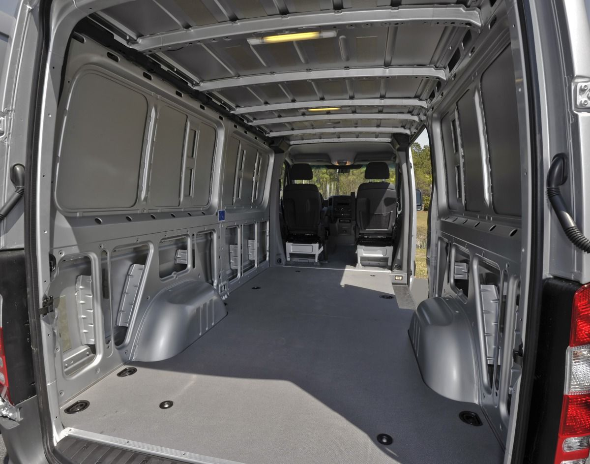 Mercedes Benz Sprinter Cargo Van Interiors