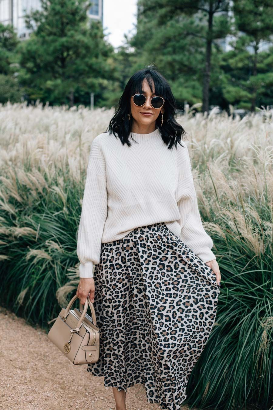 29ccdc51f13c Leopard Print Skirt | Best Of Street Style | Fashion, Printed skirts ...