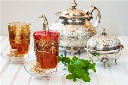 طريقة عمل الشاي المغربي Sugar Glass Tea Kettle
