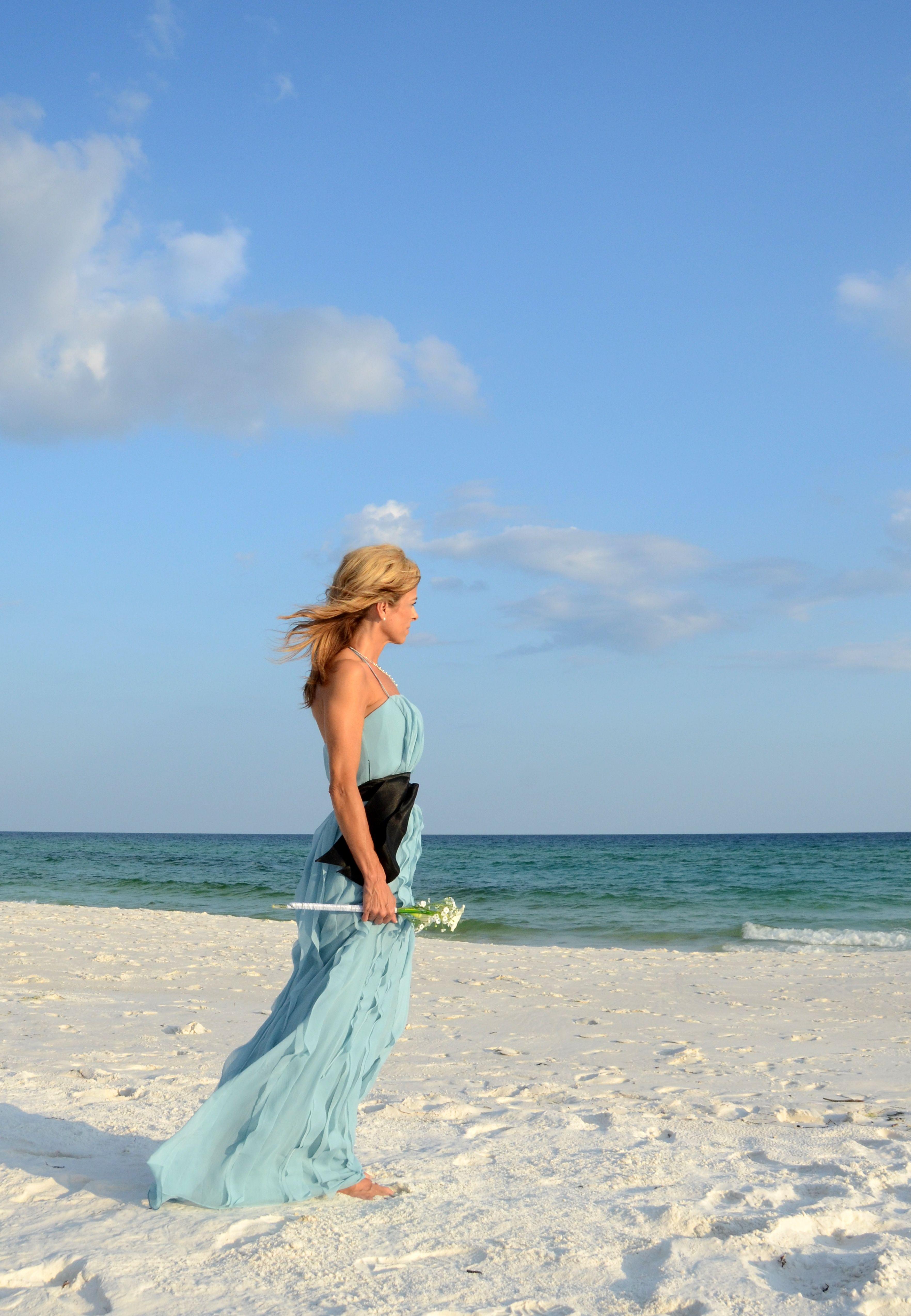 Beach weddings fort walton beach wedding packages sunset beach - Your Florida Sunset Beach Wedding