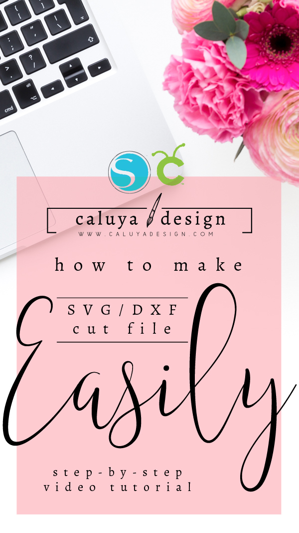 How to Convert Free Graphic into SVG & DXF Cuttable File