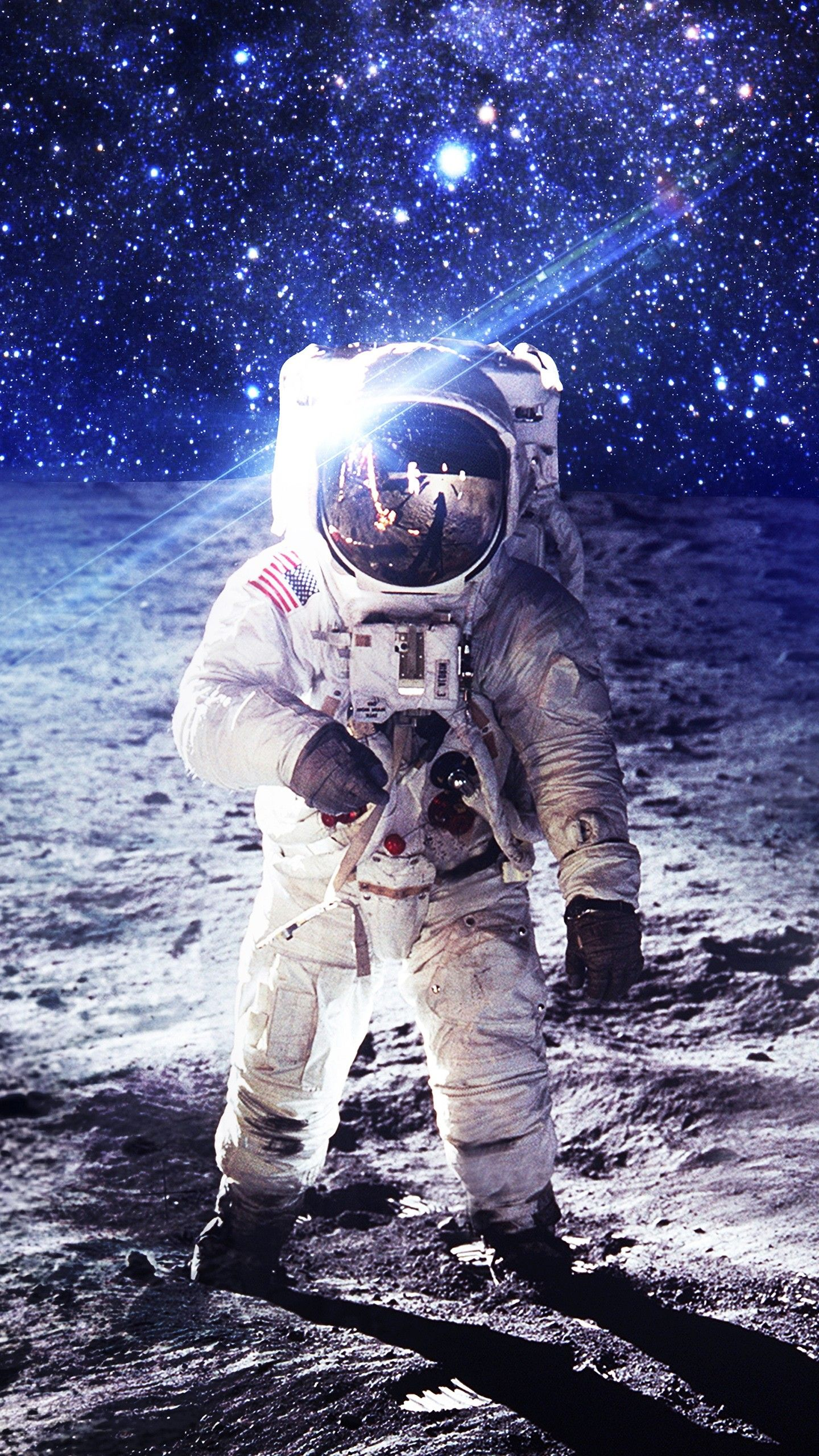 Space Nasa Astronaut On Moon 4k Wallpapers Astronaut Wallpaper