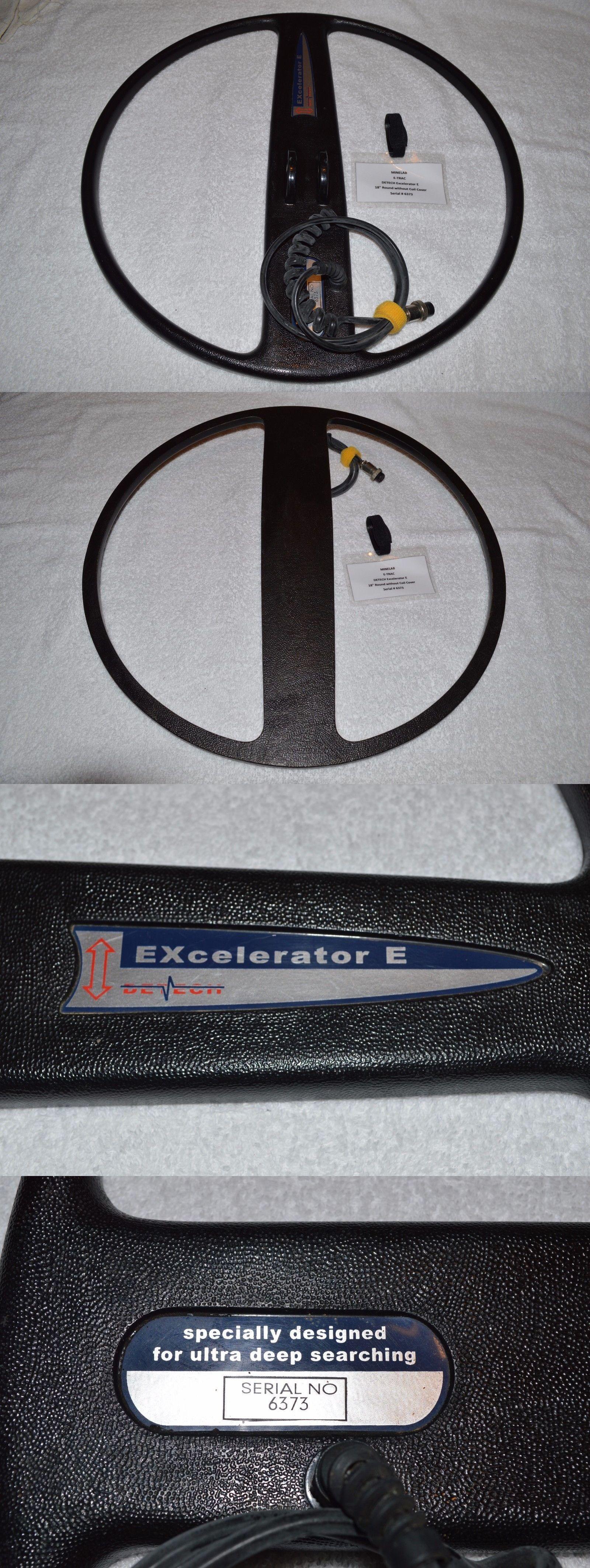 Metal Detector Accessories Detech 18 Excelerator E Dd Coil