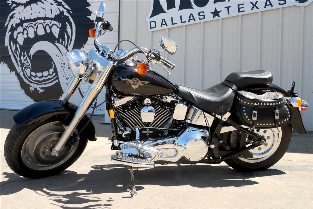 1999 Harley Davidson Fatboy Motorcycle Side Profile 195853 In 2020 Harley Fatboy Harley Harley Davidson Fatboy