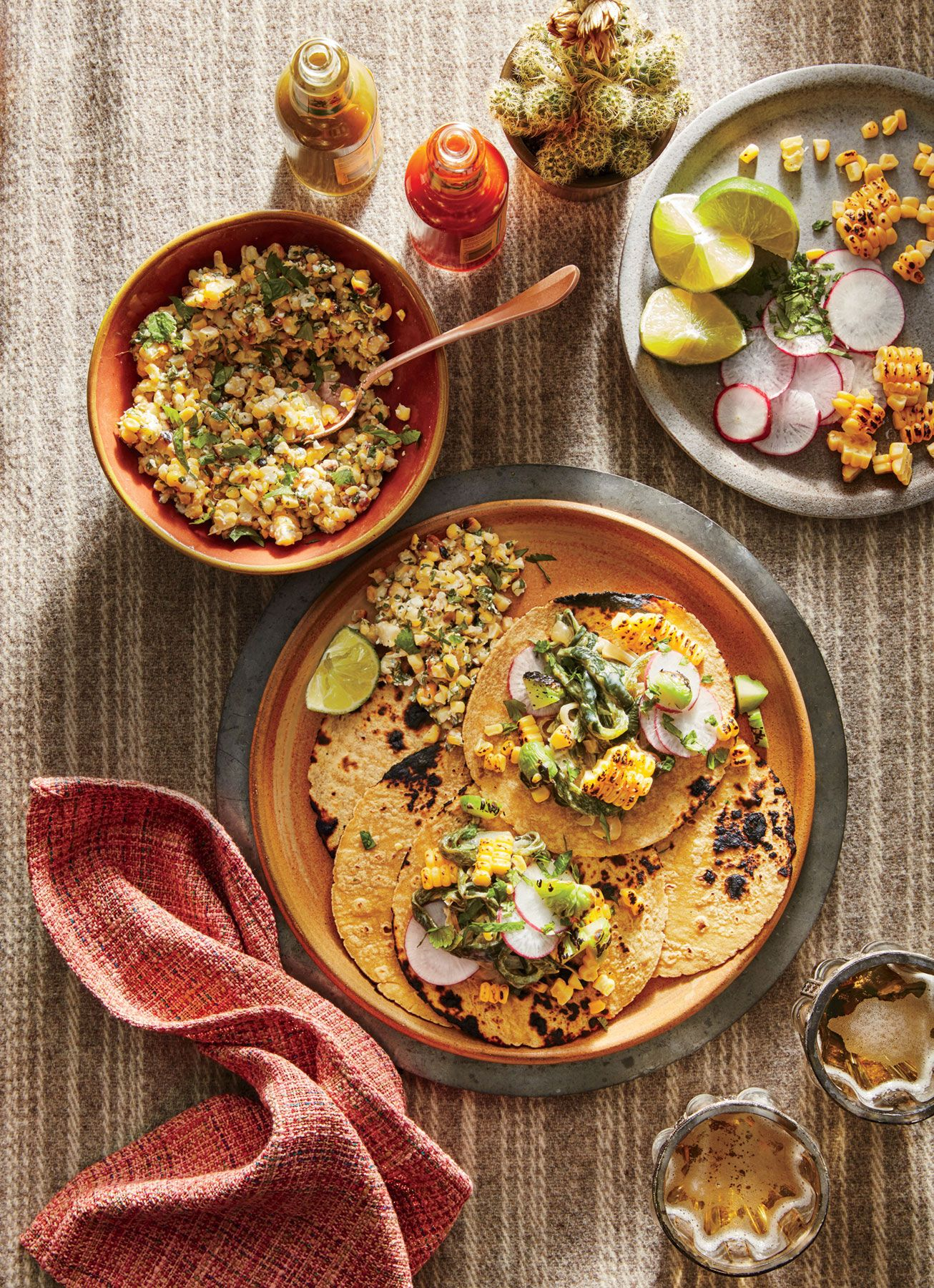 Creamy Poblano Tacos   Look For Chayote In Mexican Markets, Or Substitute  Zucchini. Www.cookinglight.com/recipes/creamy Poblano Tacos Idea