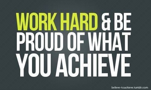 Work hard and be proud of what you achieve quotes quote fitness workout motivation exercise work hard motivate workout motivation exercise motivation fitness quote fitness quotes workout quote workout quotes exercise quotes achieve #Health#Healthy food#