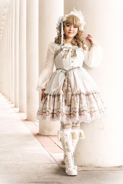 8b7f43b5c3 Sweet classic Lolita (plus size  3)