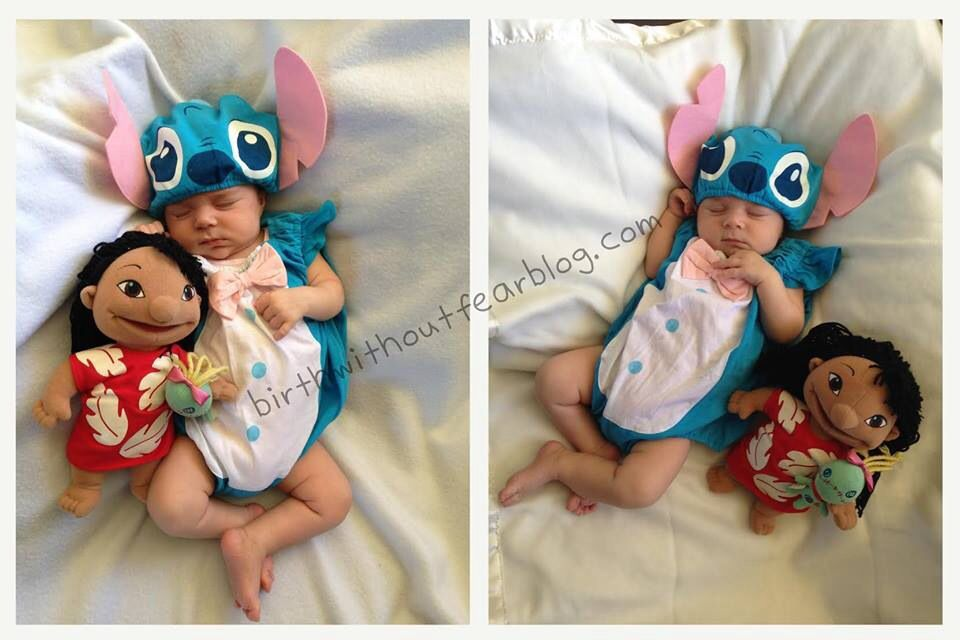 Lilo And Stitch Costume Baby Girl Halloween Costumes Baby Halloween Outfits Baby First Halloween