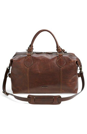 d0ae7adab40 Frye  Logan  Leather Overnight Bag (Online Only)