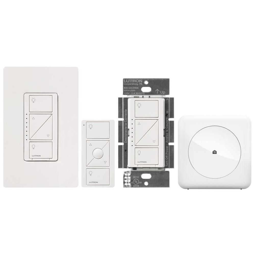 Automation Lighting Control Bundle with Caseta In-Wall Dimmers, Pico ...