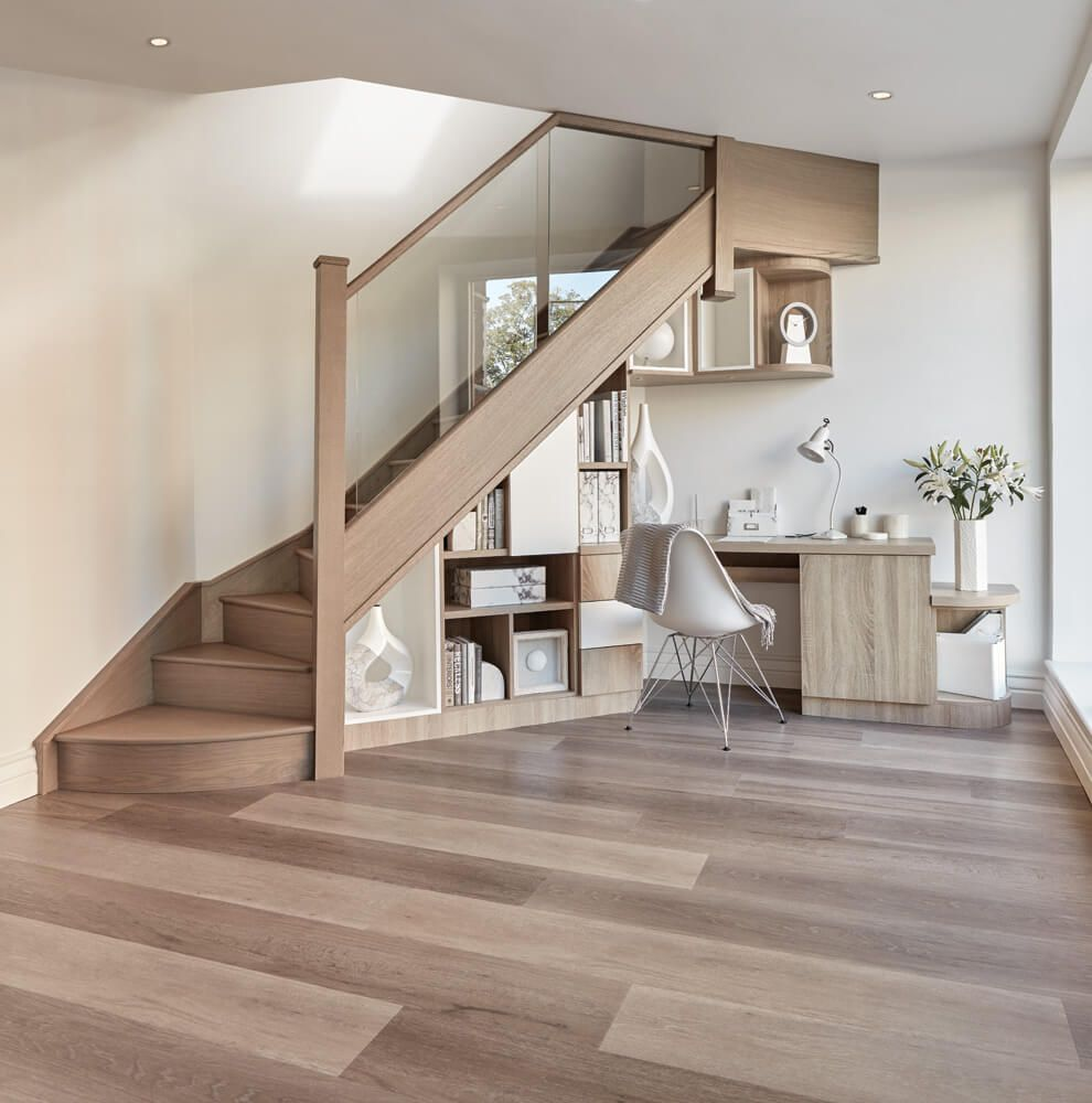 Stylish Understairs Study: Inspired Understairs Study In 2019