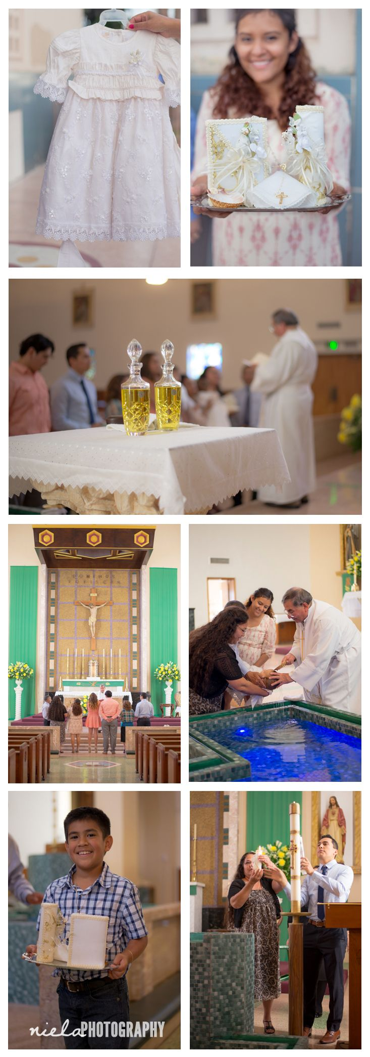 What to photograph at a catholic baptism? Here are some of the basic moments you won't want to miss by event photographer Daniela Rey in Los Angeles