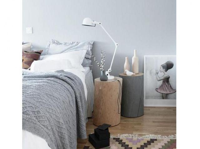 Table chevet rondin de bois | Deco | Pinterest | Tables de chevet ...