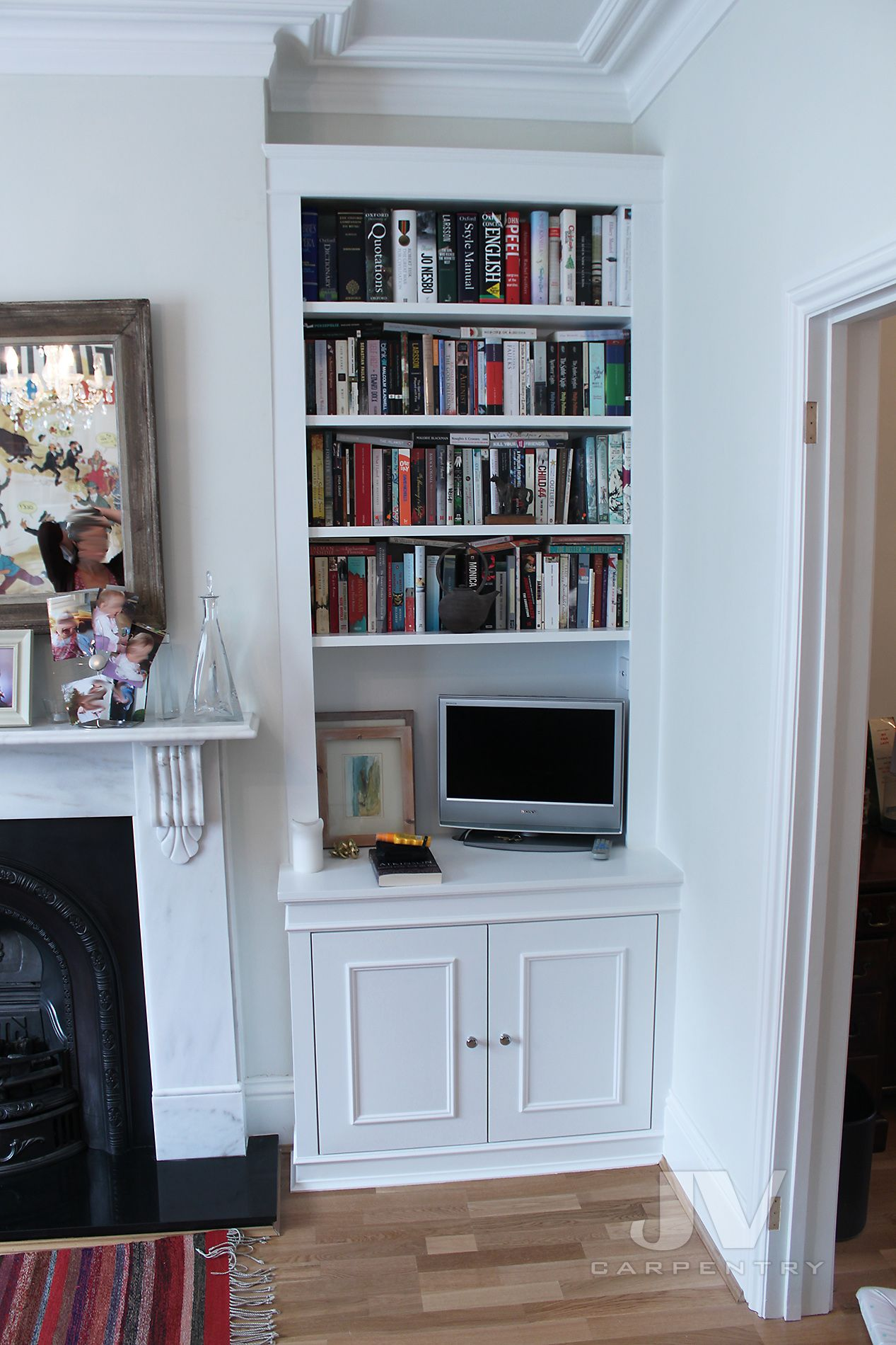 17 Amazing Alcove Shelving Ideas For Your Living Roo
