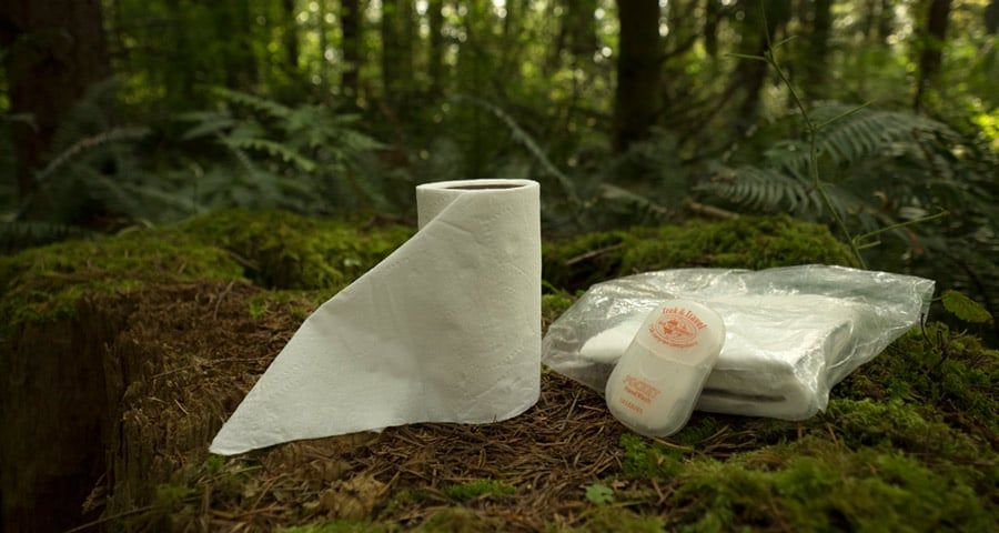 How To Go To The Bathroom In The Woods Backpacking Diy Camping