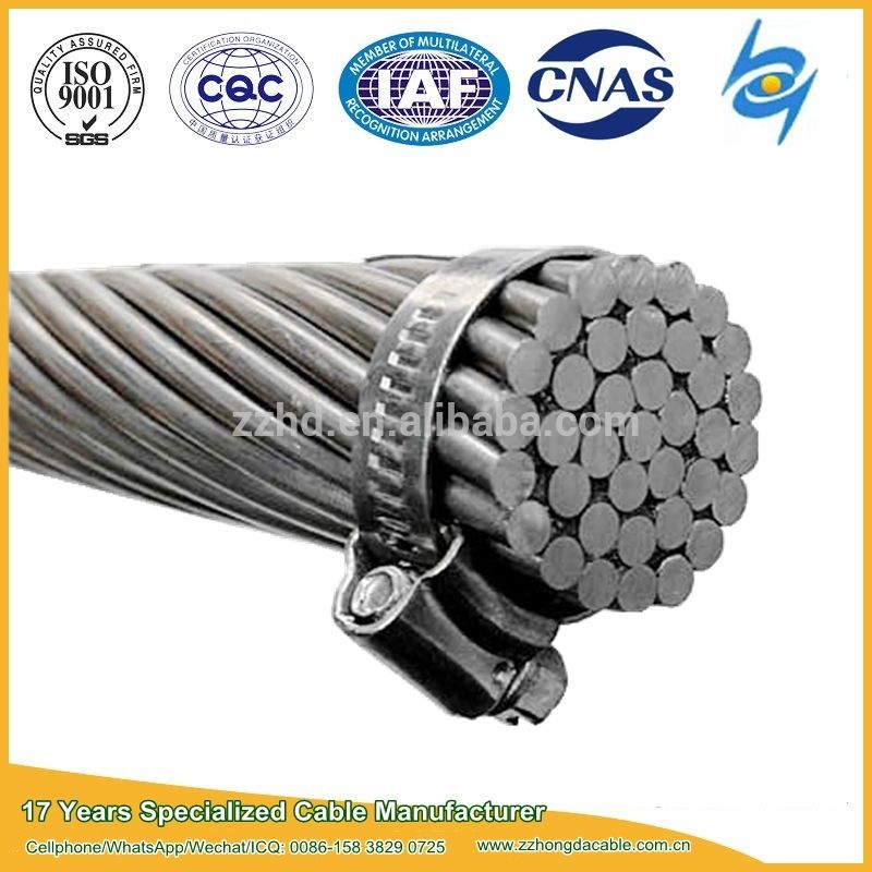 ASCR/AAC/AAAC Bare Conductor Cable for Overhead Transmission