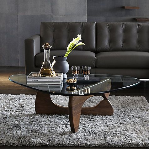 Vitra Noguchi Coffee Table Black Ash Noguchi coffee table Isamu
