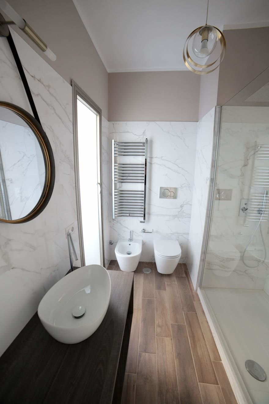 Mobili Da Bagno Moderni Roma.Idee Arredamento Casa Interior Design Arredo Bagno Bianco