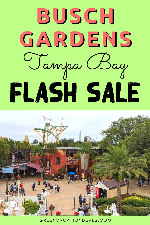 Tickets To Busch Gardens And Adventure Island