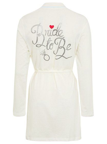 Bride-to-be Wrap, read reviews and buy online at George. Shop from ...