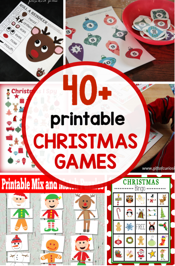 Free Christmas Printable Collections