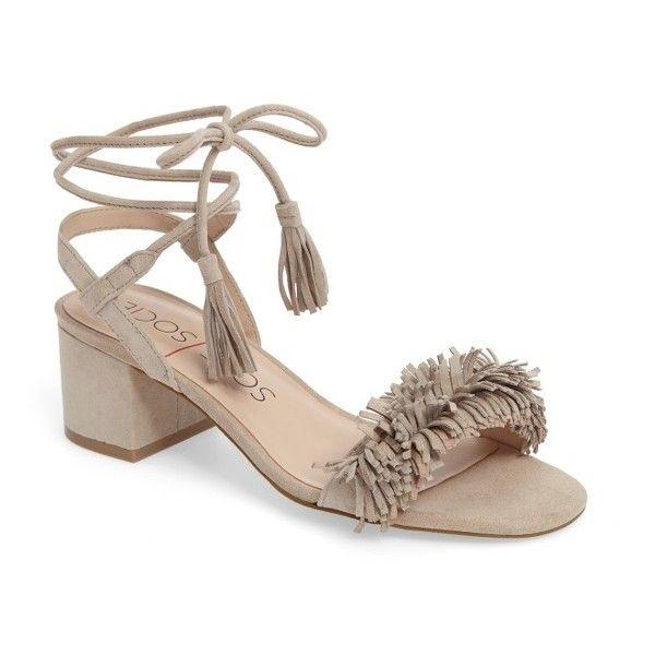 c58350143362 Women s Sole Society Sera Wraparound Fringe Sandal ( 90) ❤ liked on ...