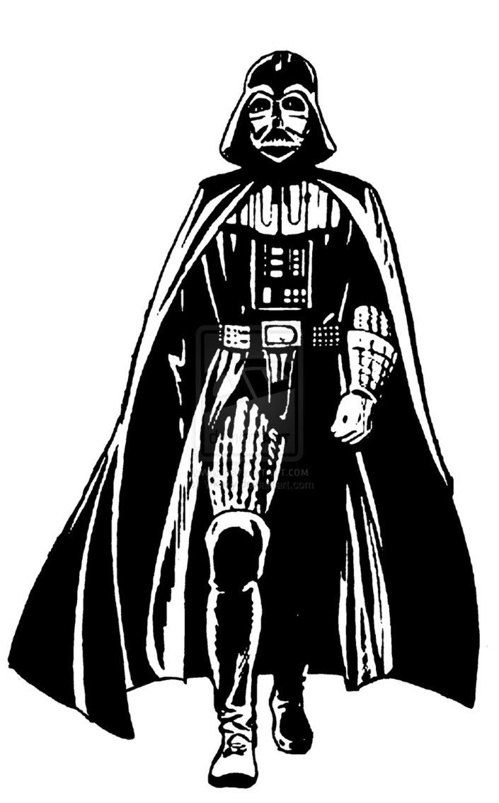 Darth vader stencil darth star wars pinterest chambre garcon et chambres - Pochoir star wars ...