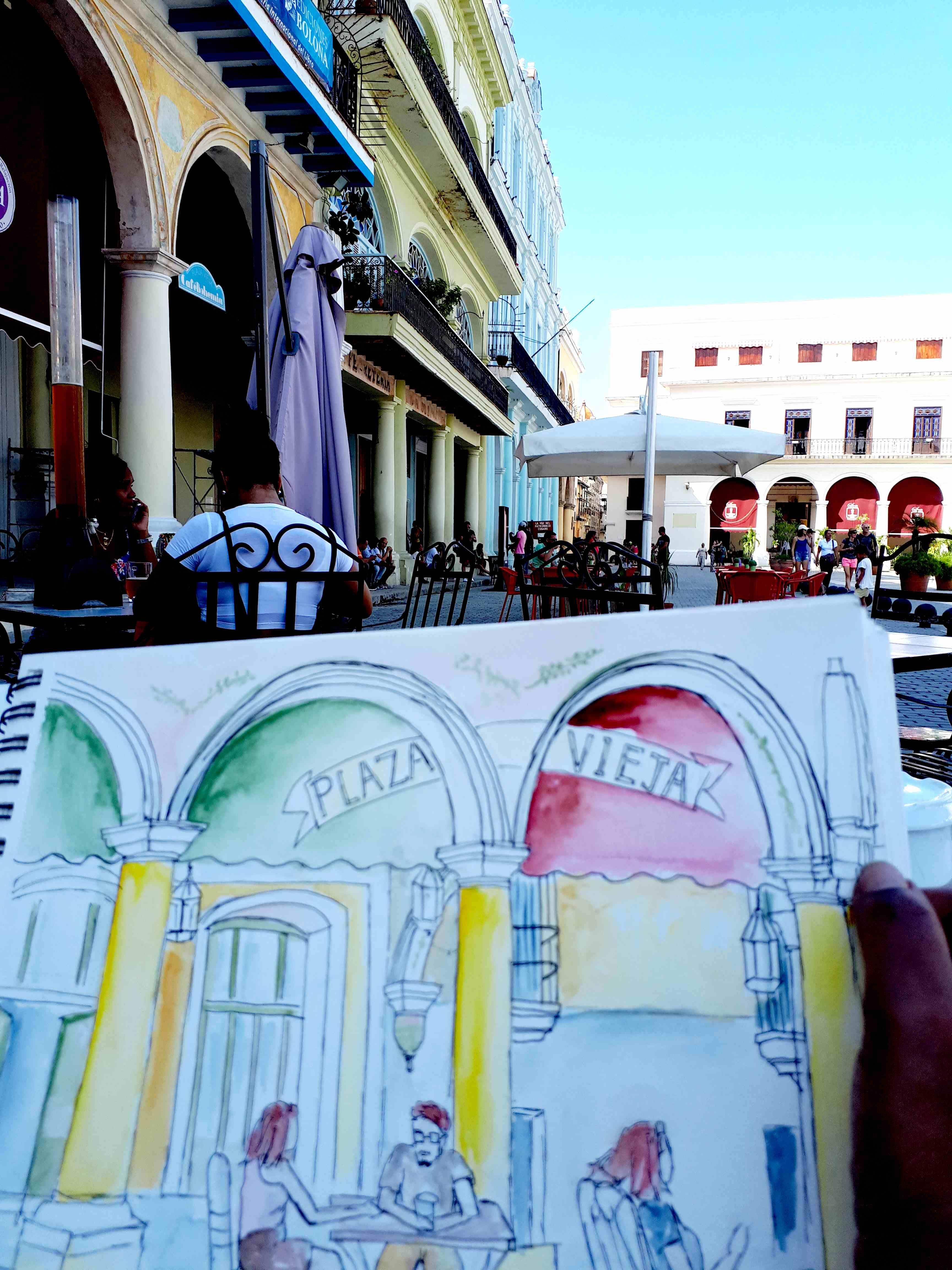 La Plaza Vieija Un Lieu Emblematique De La Vieille Havane La
