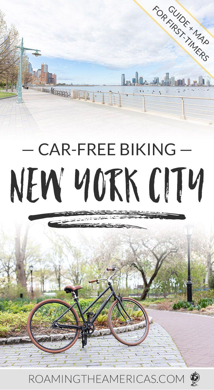 Car Free Nyc Bike Path Hudson River Greenway Biking Guide
