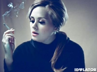 Who would have known how bittersweet this would taste...  http://cdn.idolator.com/wp-content/uploads/2012/01/adele-smoking2-400x300.jpg
