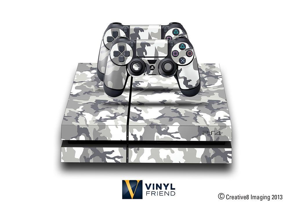 E Skins Play Station 4 Ps4 Gaming Console Skin Military Urban