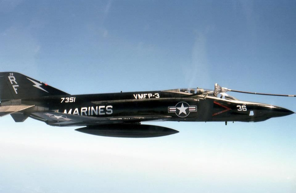 F-4 Phantom II Mid Air Refuel